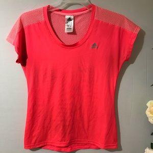 Adidas women workout shirt.Size M